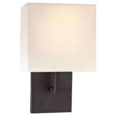 9-Watt Bronze Integrated LED Wall Sconce