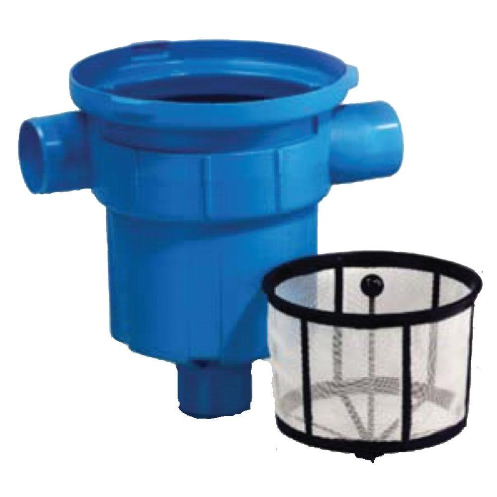 Garden Rain Water Filter with Mesh Basket