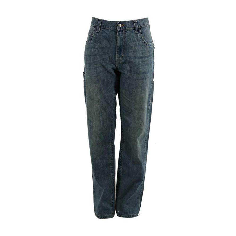 Men's 30 in. x 34 in. Limestone Cotton Ringspun Denim Quarry Carpenter Jeans