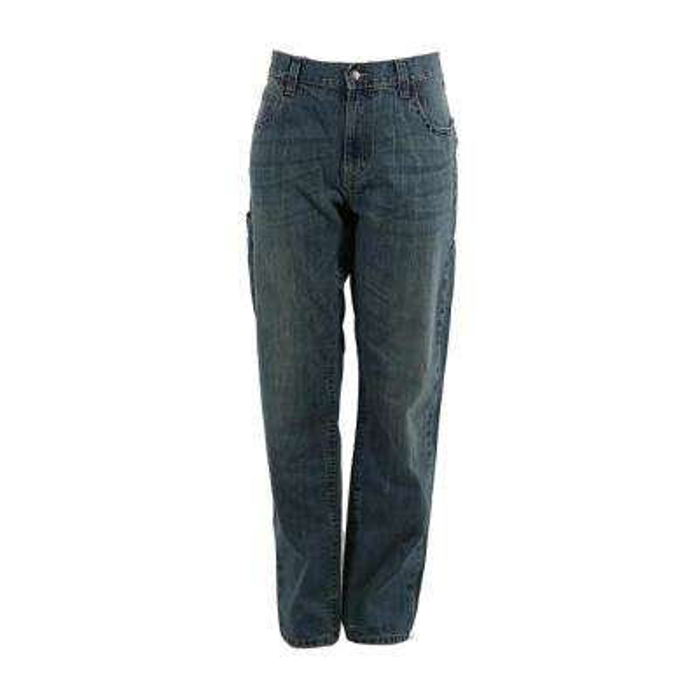 Men's 38 in. x 36 in. Limestone Cotton Ringspun Denim Quarry Carpenter Jeans