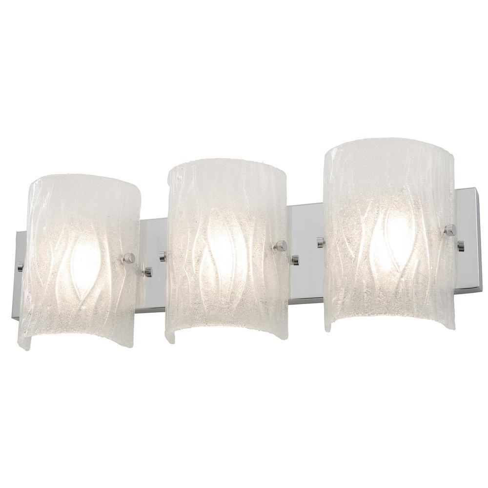 Brilliance 7.5-Watt Chrome Integrated LED Bath Light