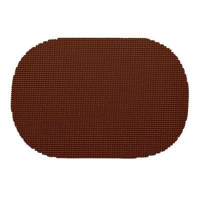 Fishnet Oval Placemat in Chocolate (Set of 12)
