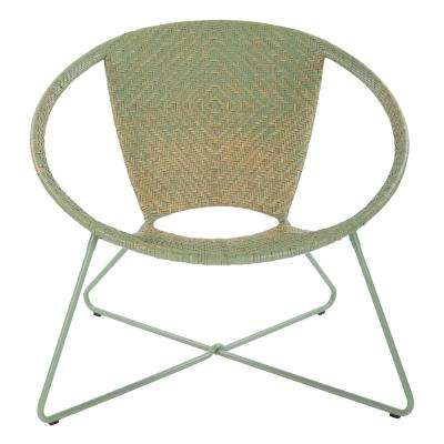 Navarre Green Fade Lounge Chair with Green Frame