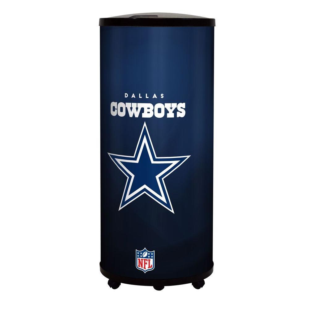 Glaros Nfl 22 Qt Dallas Cowboys Ice Barrel Cooler B17 Dal