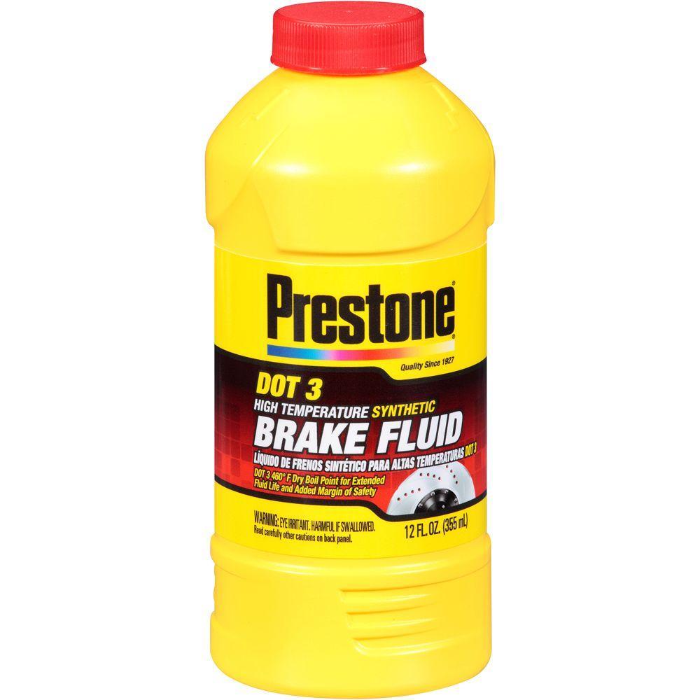 Prestone 12 Oz. Dot 3 Brake Fluid-AS400Y-6