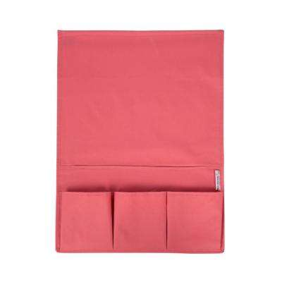 Storit Small Pink Polyester Bedside Storage Caddy 1-Pack