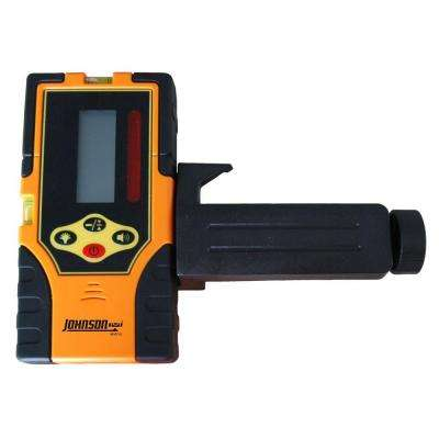 Red Beam Rotary Laser Detector with Clamp
