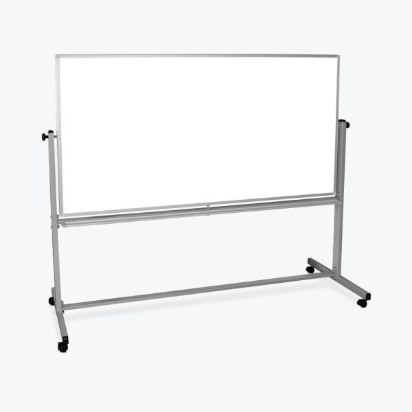 Luxor 72 in. x 48 in. Mobile Double-Sided Magnetic Whiteboard