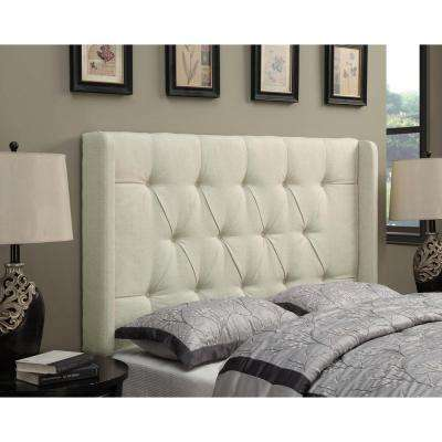 Beige King Headboard
