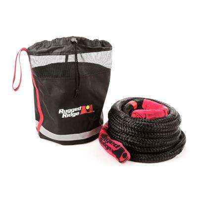 Kinetic Recovery Rope with Cinch Storage Bag