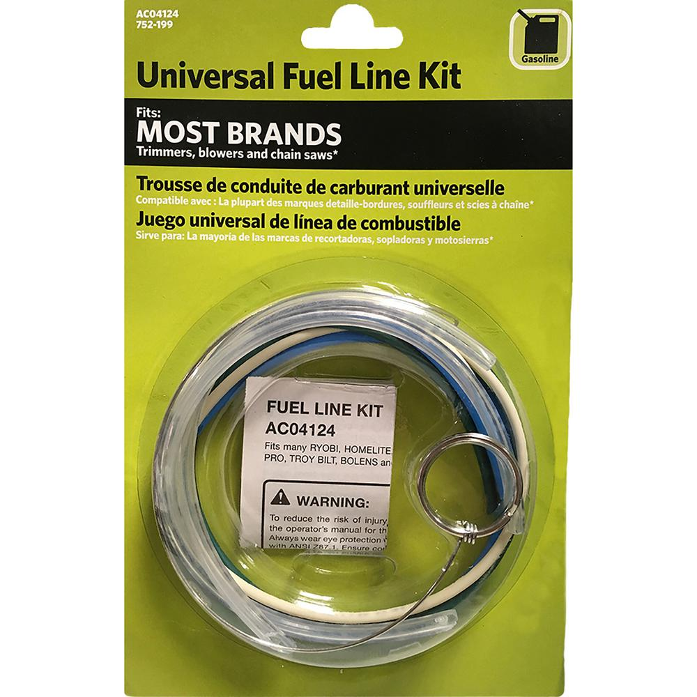 poulan pro weed eater fuel filter universal fuel line kit ac04124 the home depot  universal fuel line kit ac04124 the