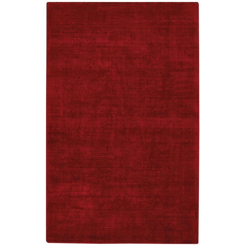 Iceburg Crimson 5 ft. x 8 ft. Area Rug