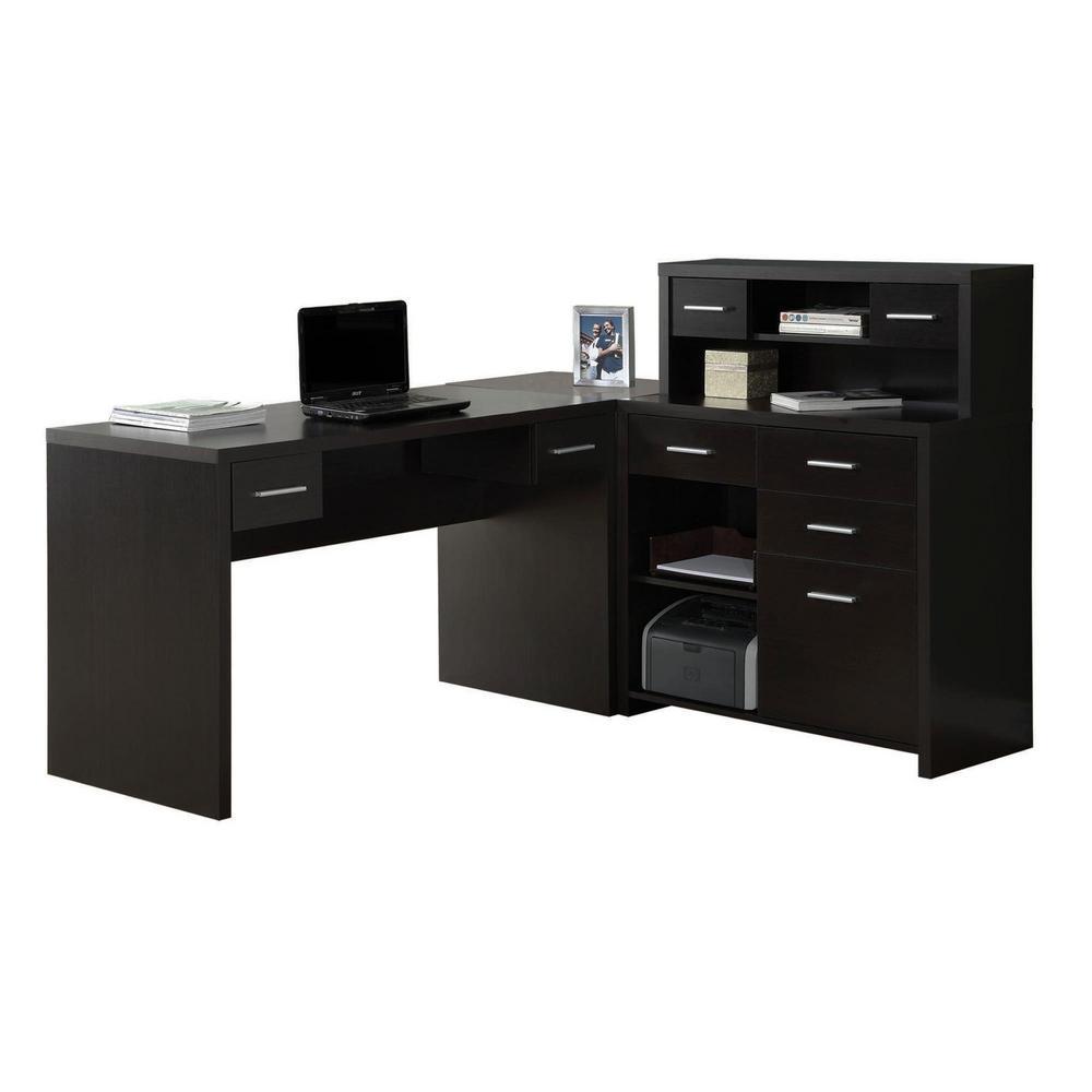 2-Piece Cappuccino Office Suite