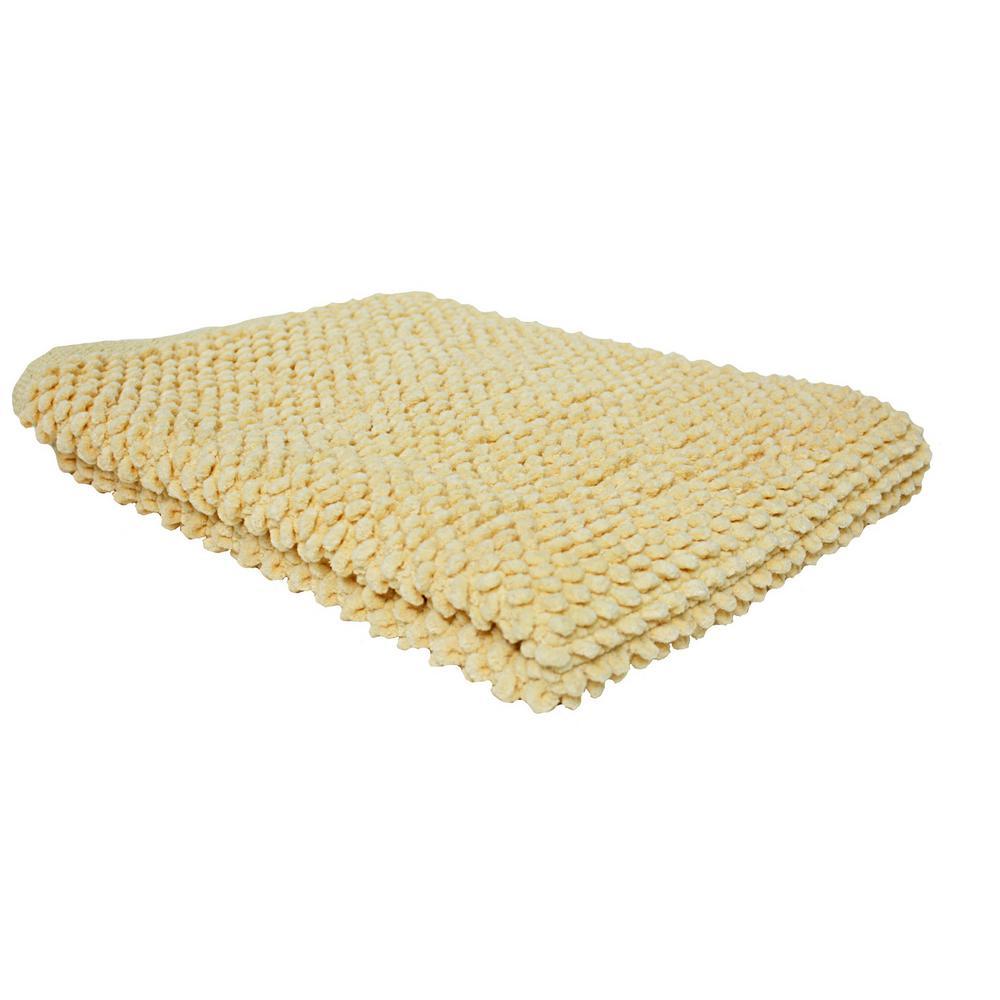 Buttermilk 2 ft. x 3 ft. Popcorn Mat