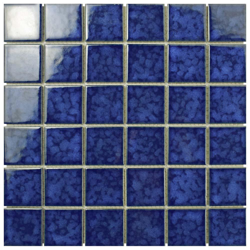 Merola Tile Lagoon Quad Atlantic 11-7/8 in. x 11-7/8 in. x 6 mm ...