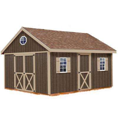 Easton 12 ft. x 20 ft. Wood Storage Shed Kit