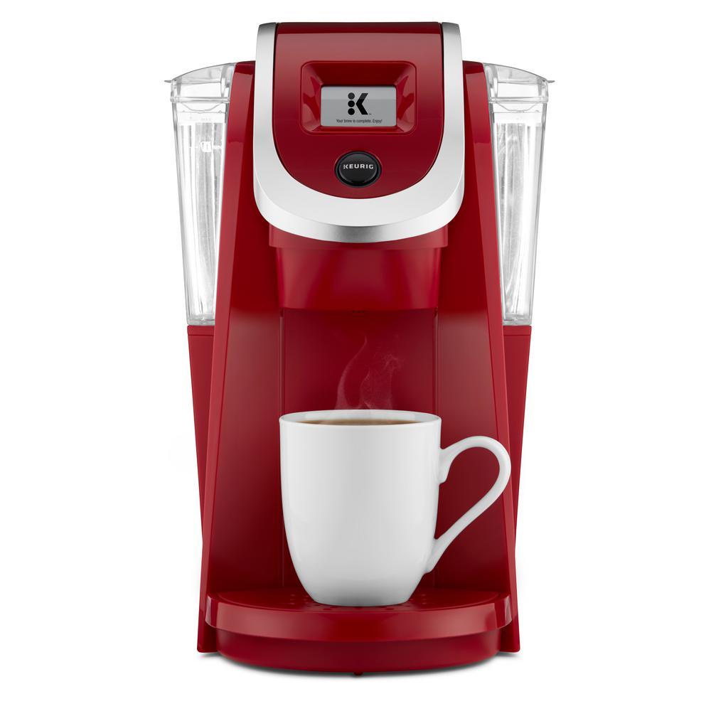 KEURIG K200 Plus Single Serve Coffee Maker, Imperial Red