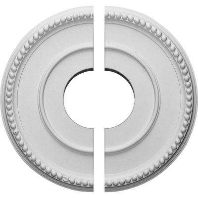 12-1/2 in. x 3-7/8 in. x 3/4 in. Bradford Urethane Ceiling Medallion, 2-Piece (Fits Canopies up to 6-5/8 in.)