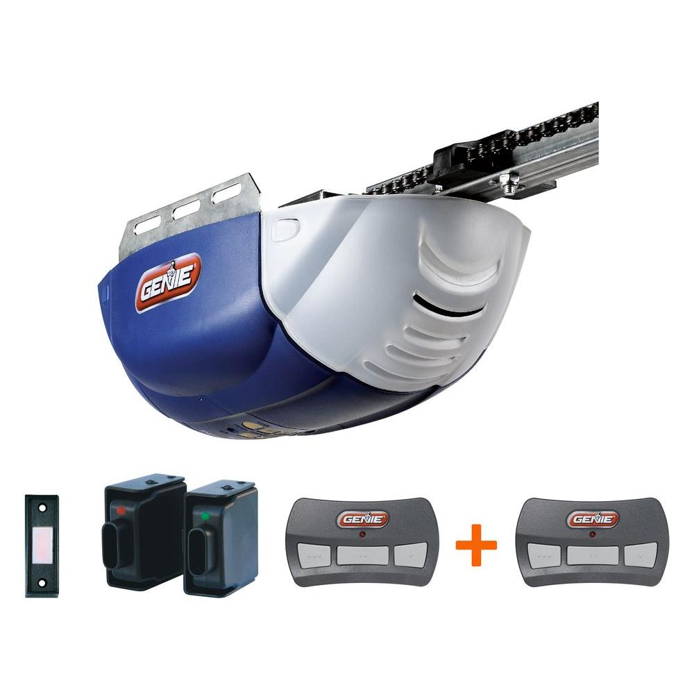 Genie ChainLift 600 1/2 HP DC Motor Chain Drive Garage Door Opener with Bonus Remote-DISCONTINUED
