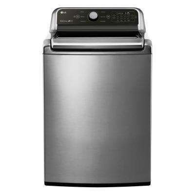 4.5 cu. ft. Top Load Washer in Graphite Steel, ENERGY STAR