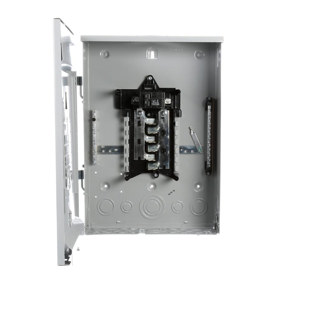 Murray 100 Amp 12 Space 24 Circuit Outdoor Main Breaker