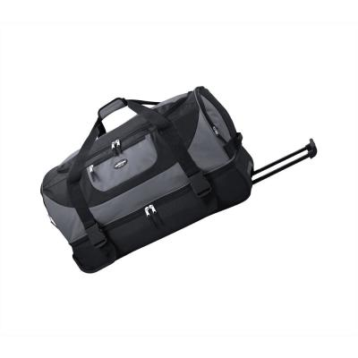 30 in. 2-Section Drop-Bottom Rolling Duffel