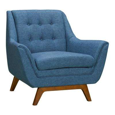 Janson Blue Fabric Sofa Chair