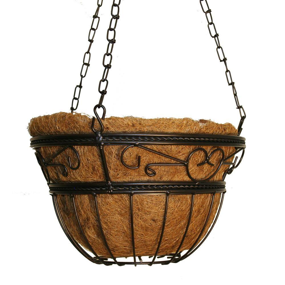 CobraCo 12 in. Scroll Braided Basket