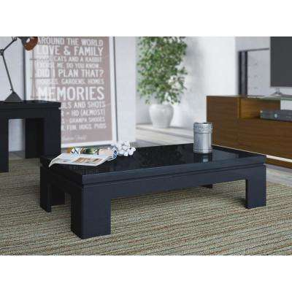 Bridge Black Gloss Coffee Table