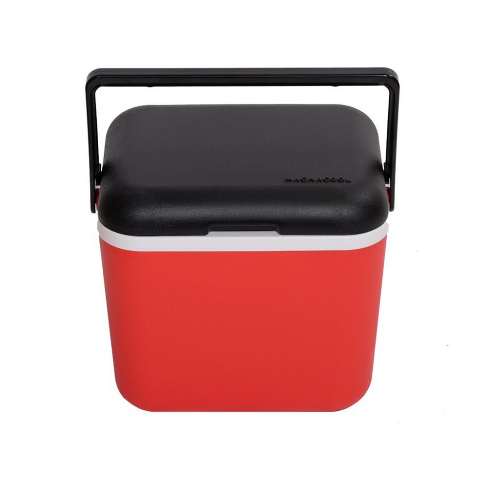 Magnetic Red hard cooler