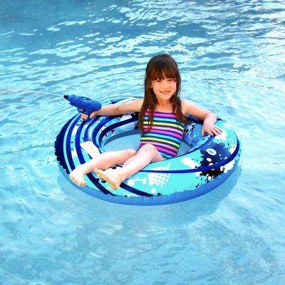 Blaster Ring 42 in. Inflatable Pool Toy with Squirter