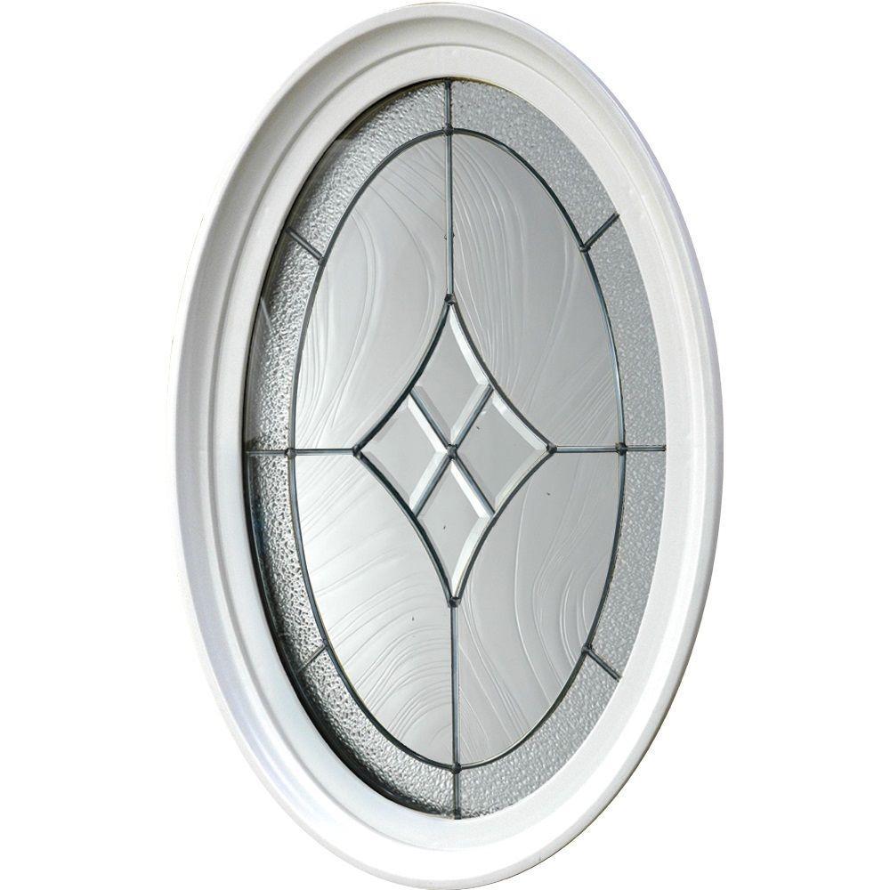 Tafco windows 20 in x in geometric vinyl window for Window design round