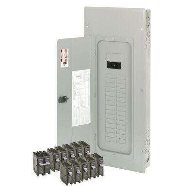 150 Amp 30-Space/Circuit Type BR Main Breaker Load Center Value Pack (Includes 11 Breakers)