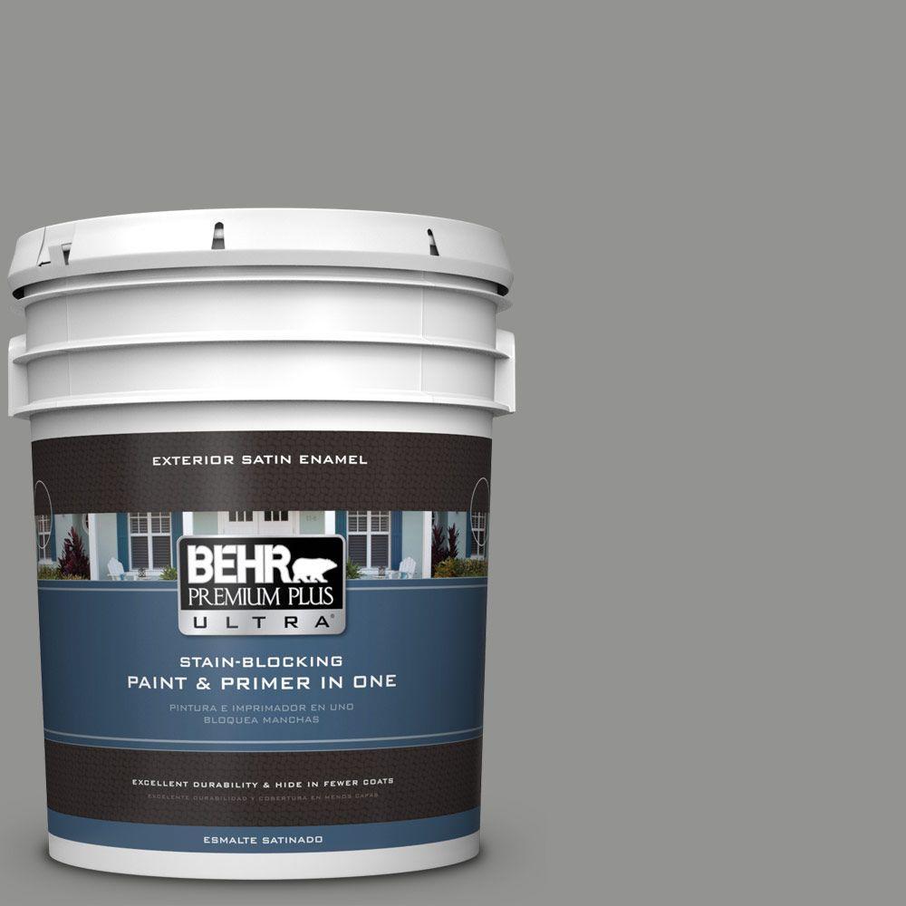 BEHR Premium Plus Ultra 5-gal. #780F-5 Anonymous Satin Enamel Exterior Paint