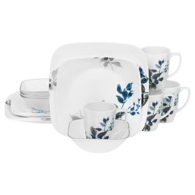 Boutique 16-Piece Kyoto Night Dinnerware Set