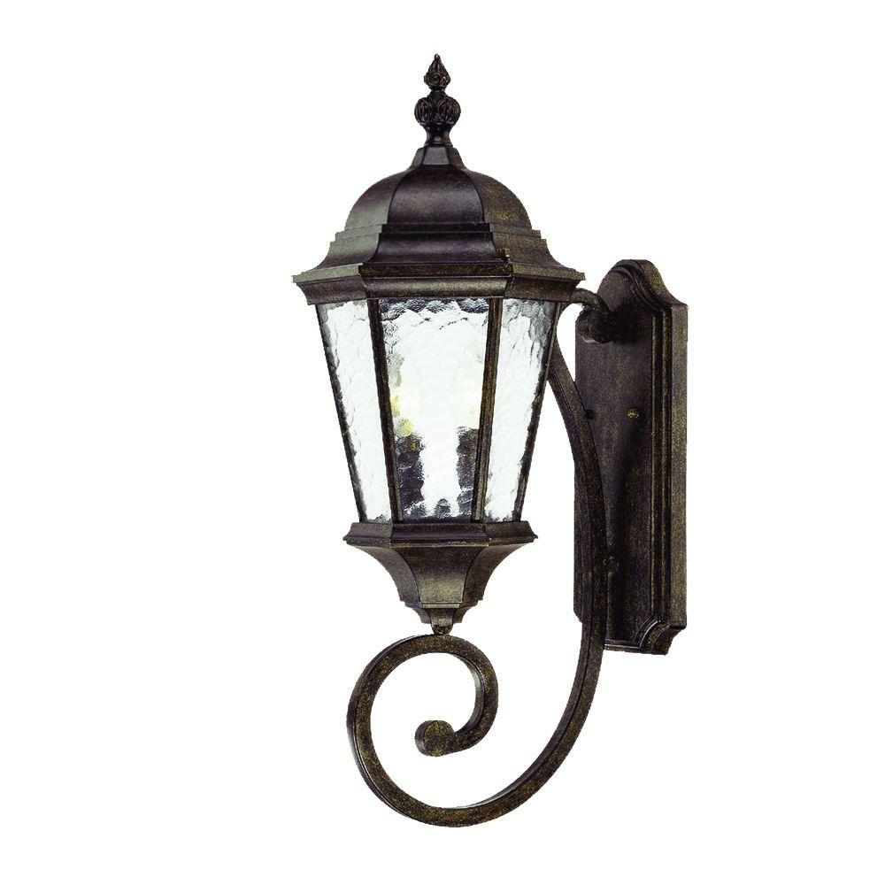 Acclaim Lighting Telfair Collection 2-Light Black Coral