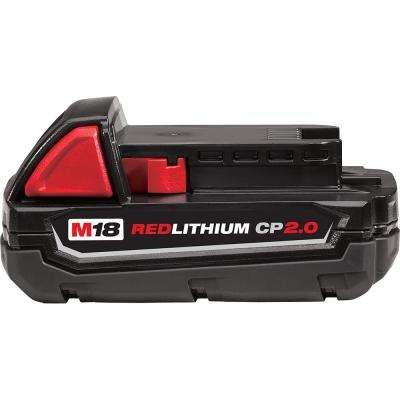 M18 18-Volt Lithium-Ion 2.0 Ah Compact Battery