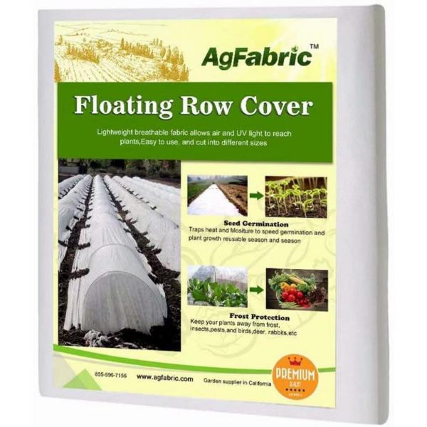Large ANPHSIN Pack of 2 Drawstring Plant Covers Large Size 59x35.4 inch Frost Blanket for Frost Protection
