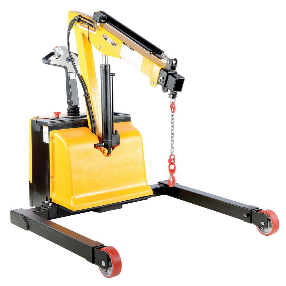 2,500 lbs. Capacity Adjustable Electric Powered Floor Crane
