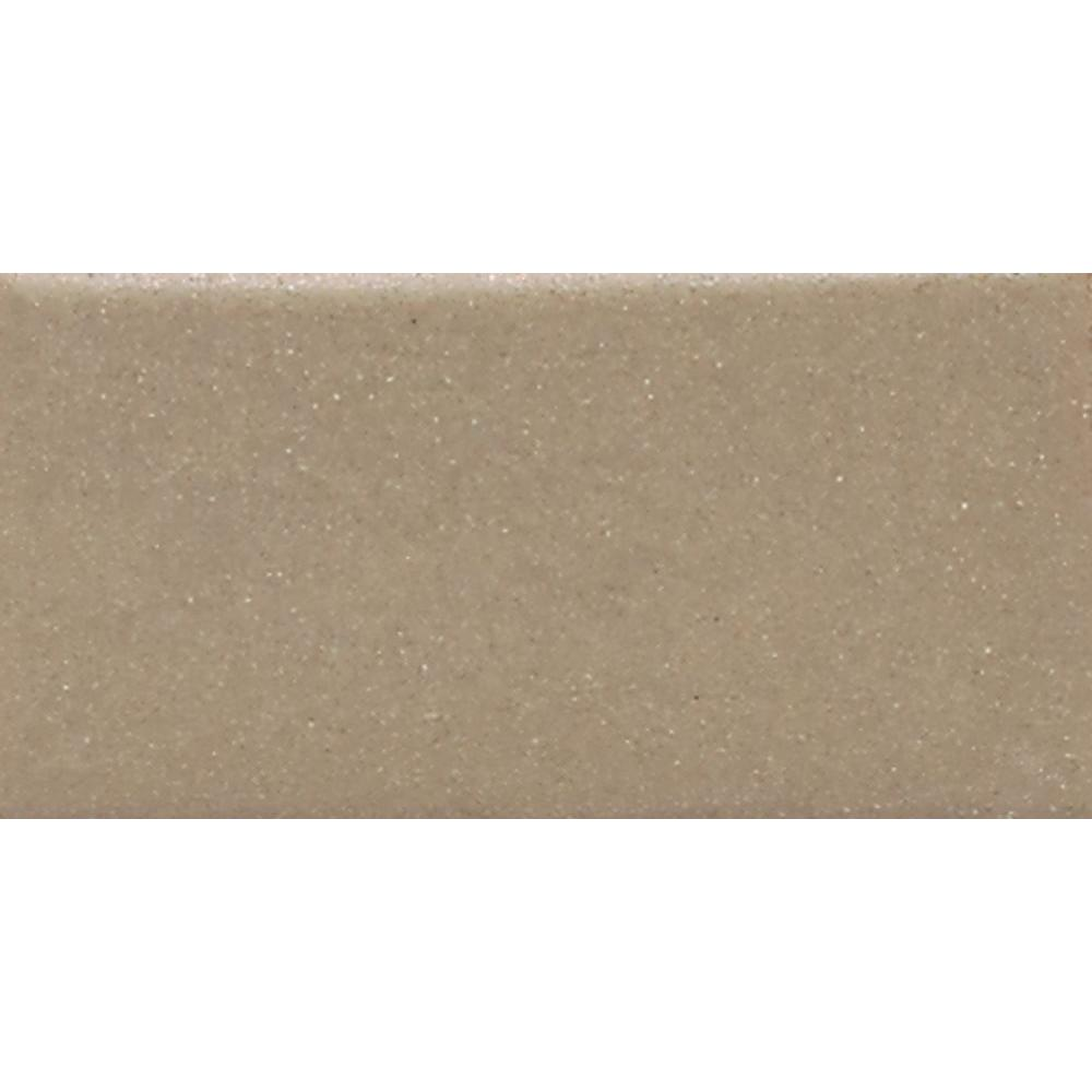 Daltile Modern Dimensions Elemental Tan 4-1/4 in. x 8-1/2 in. Ceramic Wall Tile (10.63 sq. ft. / case)