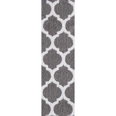 Seyward Titanium 2 ft. x 5 ft. Runner Rug