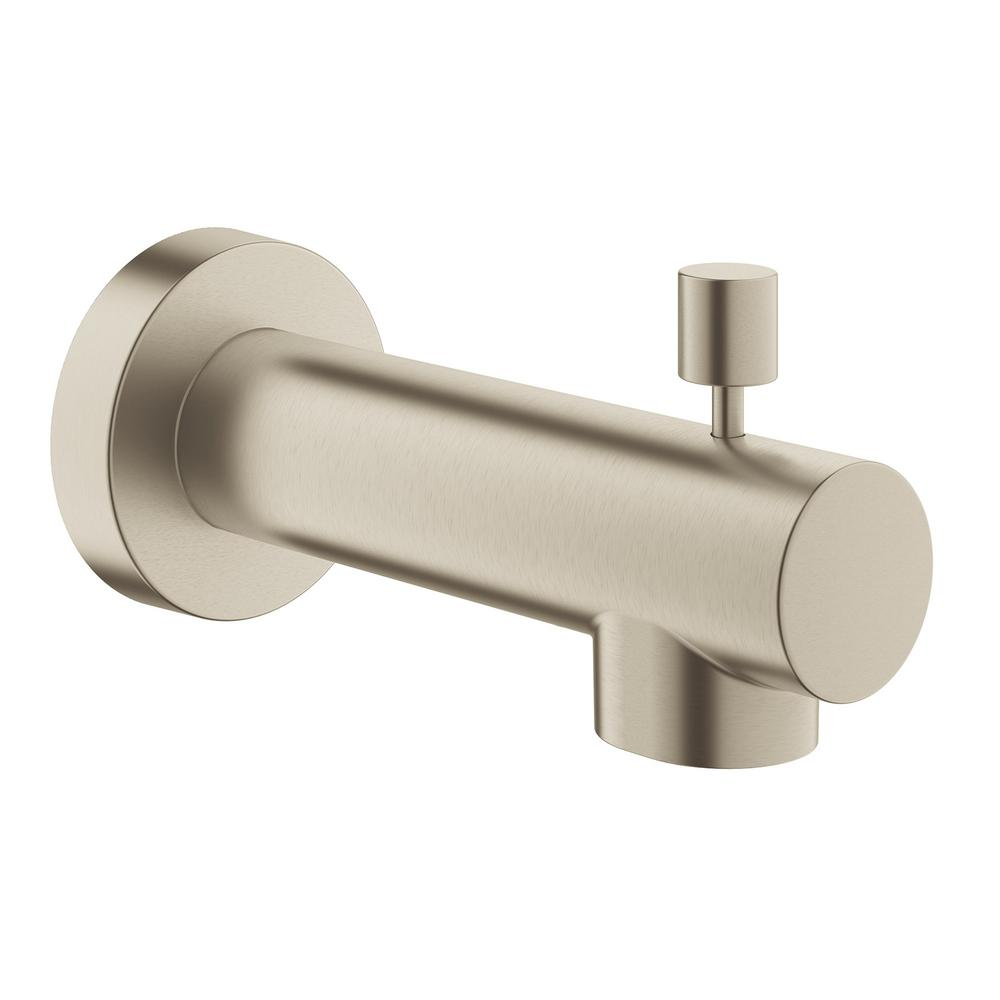Concetto 5 in. Tub Spout in Brushed Nickel