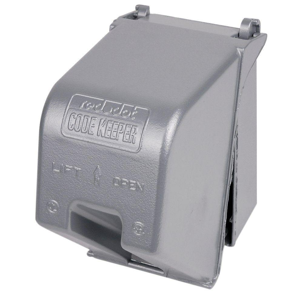1-Gang Weatherproof Heavy Duty Electrical Box Cover