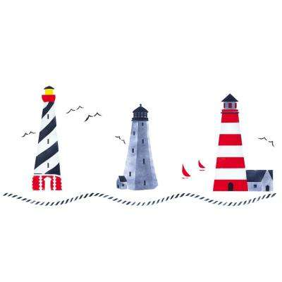 Lighthouse Wall Stencil