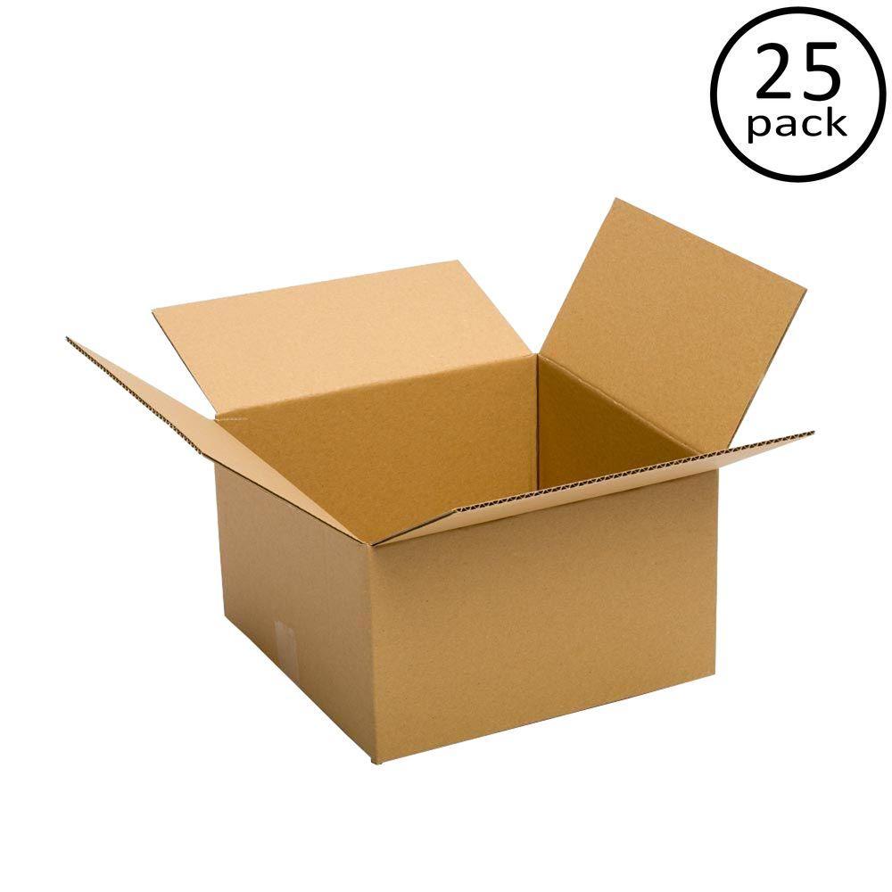14 in. L x 14 in. W x 6 in. D Box (25-Pack)
