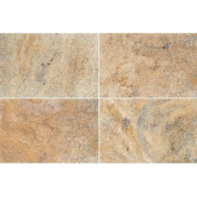 Tuscany  Beige 24 in. x 16 in. Gold Travertine Paver Tile (60-Pieces/160.2 Sq. Ft./Pallet)
