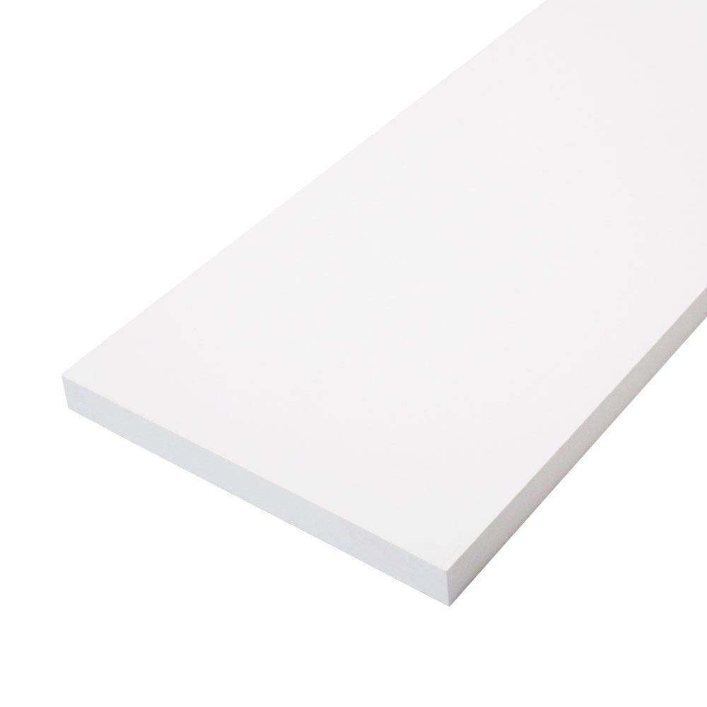 CMPC 1 in. x 10 in. x 8 ft. Primed Finger-Joint Pine Board (Actual Size: 0.75 in. x 9.25 in. x 8 ft.) (3-Piece Per Box)