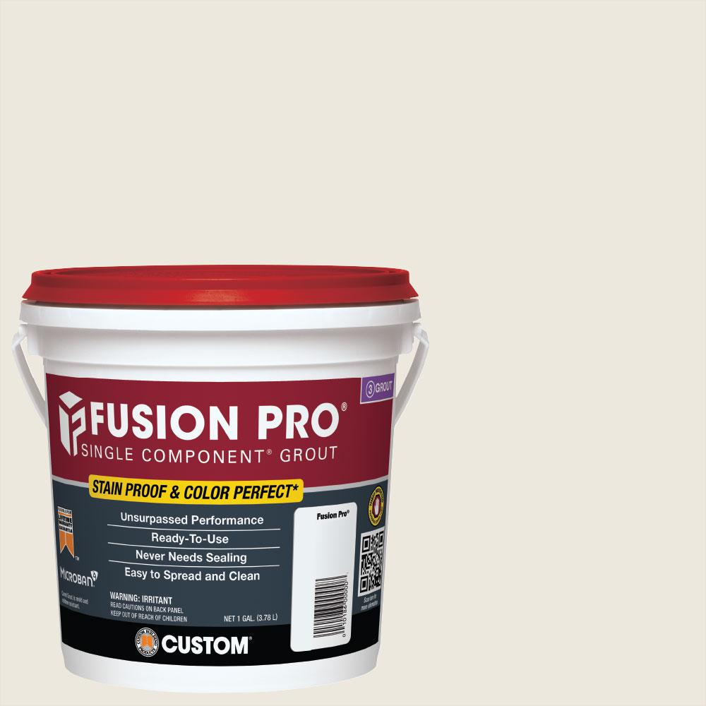 Custom Building Products Fusion Pro #381 Bright White 1 Gal. Single Component Grout