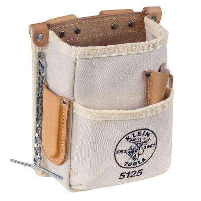 5-Pocket Canvas Tool Pouch