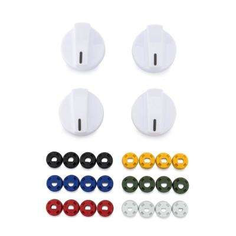 Universal Gas and Electric Range White Knob Kit (4-Pack)